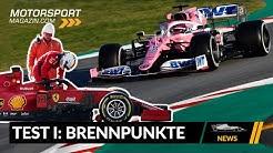 Lenktricks, Kopien & Co: Brennpunkte der 1. Testwoche – Formel 1 2020 (News)