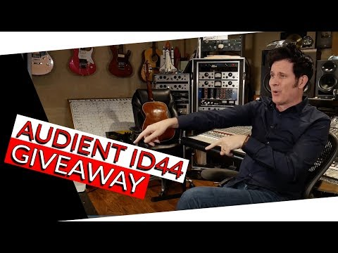 Audient ID44 Demo & Giveaway - Warren Huart: Produce Like A Pro
