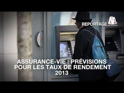 Assurance-vie : Quelles prévisions pour les taux de rendement 2013 ?