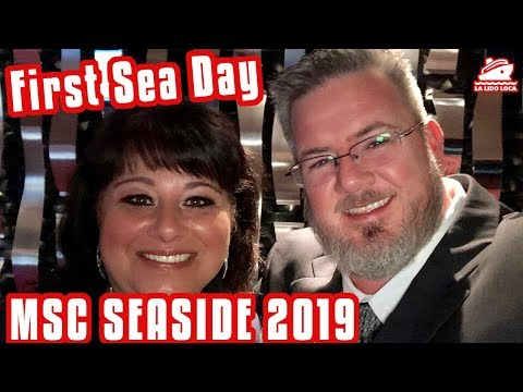 First Sea Day - MSC Seaside Cruise Vlog 2019