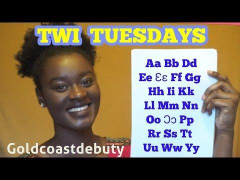 Twi Lessons for Beginners [Akan Twi Language] 'Alphabets' GHANA Goldcoastdebuty