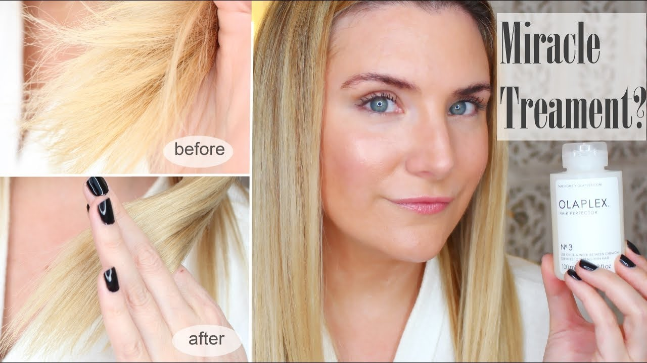 Miracle Treatment For Bleached Hair