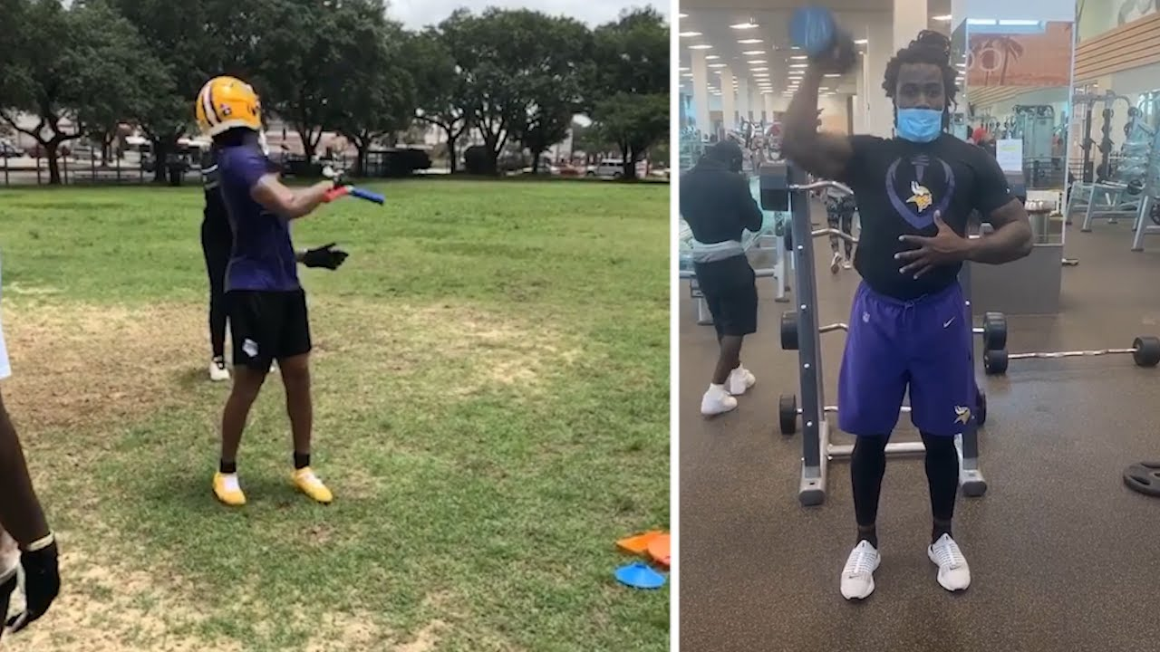 Minnesota Vikings WEAPONS Justin Jefferson & Dalvin Cook GRIND HARD Staying Ready For Season