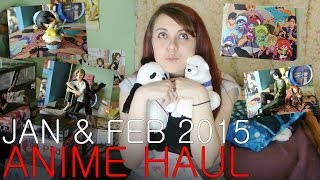 Anime & Manga Haul - January/February 2015