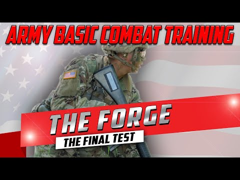 Army Basic Combat Training (BCT) Documentary - The Forge