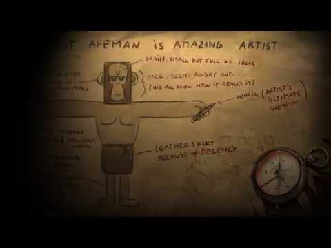 Ancient Apeman - historical journal entry