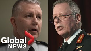 New Canadian chief of the defence staff steps aside amid investigation