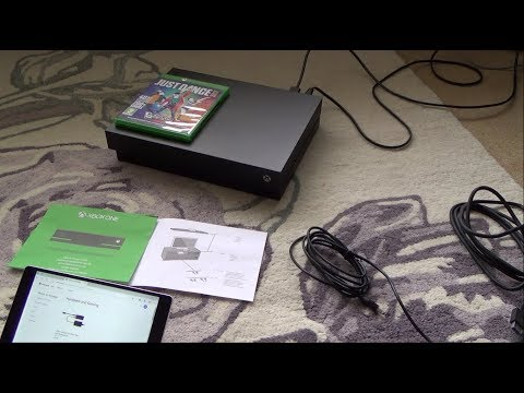 How to Connect a KINECT to the Xbox One X
