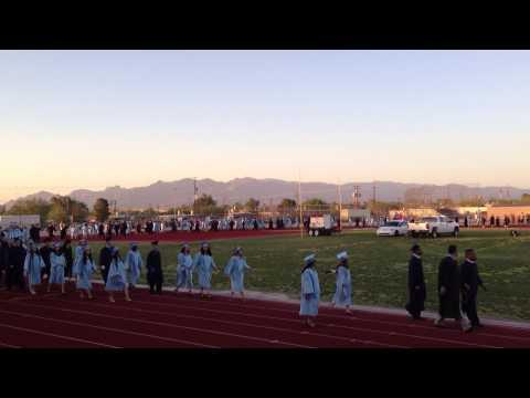Pueblo High School - Class of 2013 - Marching Around Field