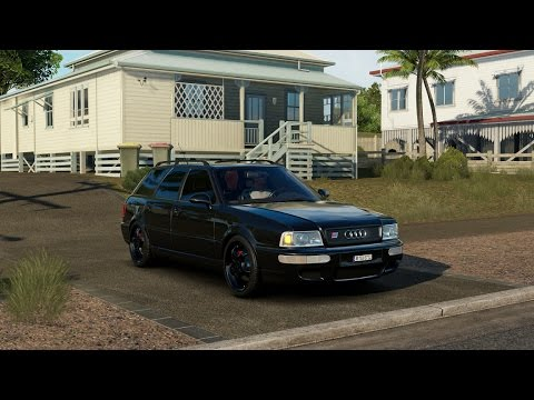 "Forza Horizon 3 - 1995 AUDI RS 2 AVANT ""TUNED"" - City Test Drive - 1080p"
