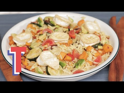Rainbow Orzo Pasta Salad | We Heart Food 2