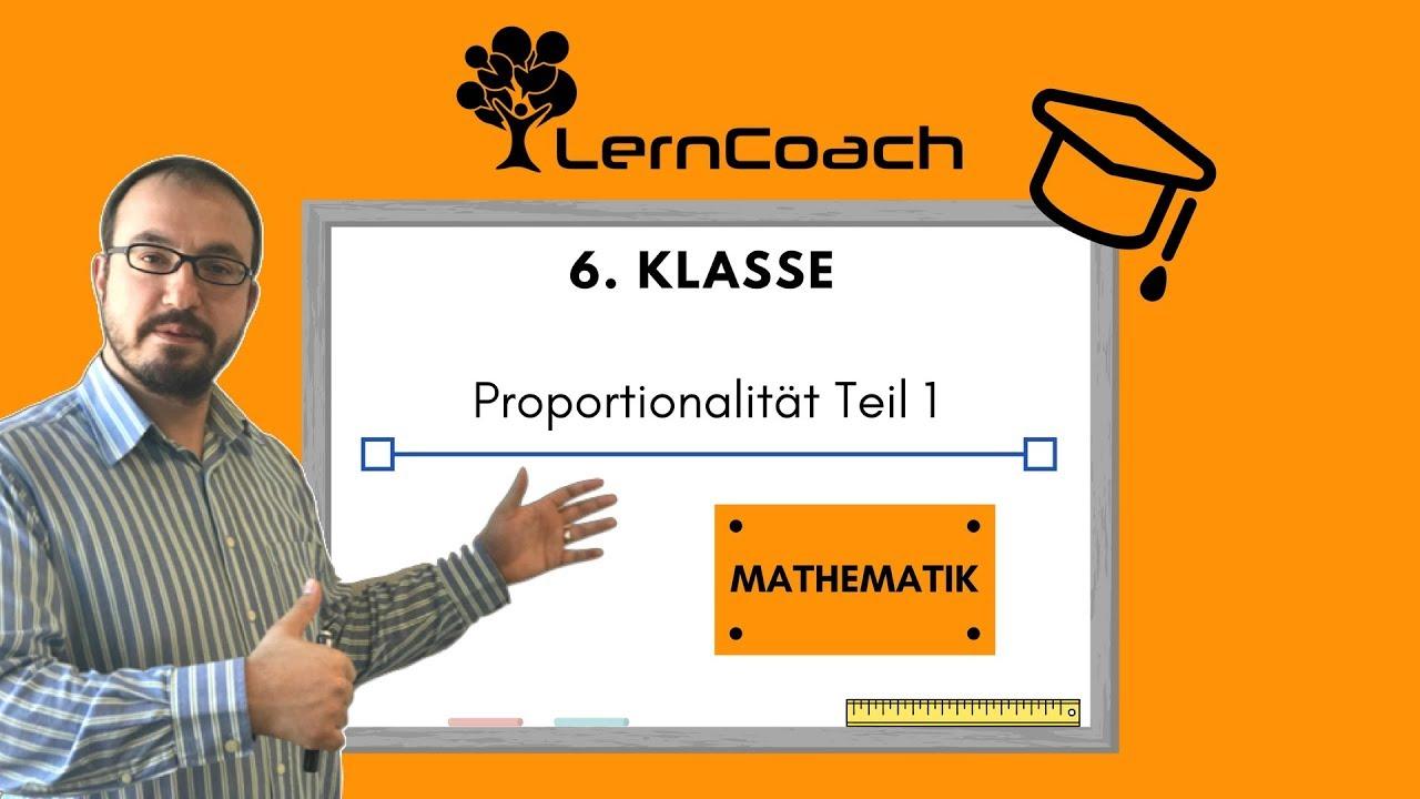6.Klasse Proportionalität Teil1 - YouTube