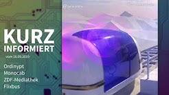 Odinypt, Monocab, ZDF-Mediathek, Flixbus | Kurz informiert vom 16.09.2019