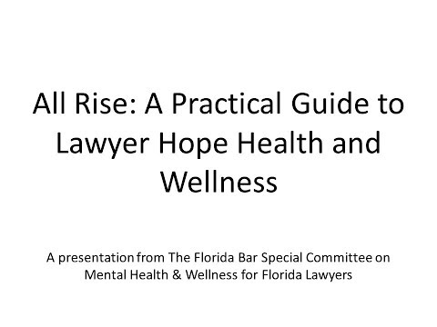 All Rise: A Practical Guide to Lawyer Hope Health and Wellness
