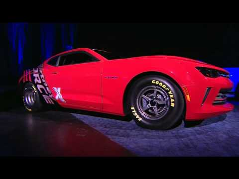 2016 Chevy Copo Camaro Previewed With Courtney Force Concept Video