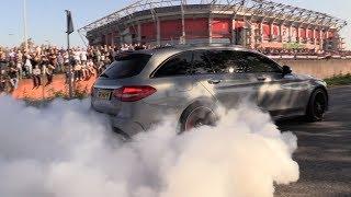 Supercar Accelerations MADNESS!! S550 Widebody, E63 S, Huracán, R8 V10 Plus & More! thumbnail