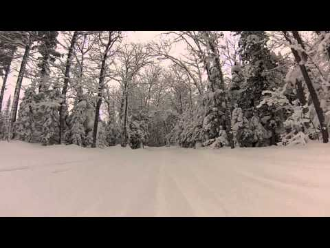 Copper Harbor to Lac la Belle January 2014 - GoPro