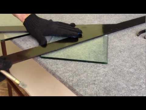 """Резка толстого стекла. Стекольная мастерская """"Блик"""", http://www.steklo-zerkalo.com/"""