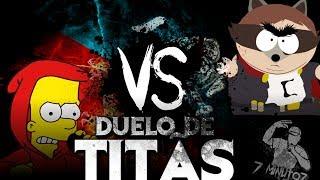 Bart Simpson VS. Eric Cartman | Duelo de Titãs