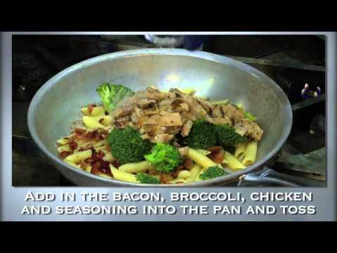 BJ's Restaurant & Brewhouse - Sriracha Chicken Bacon Mac and Cheese Training