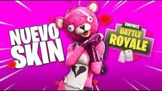 WINNING WITH THE SKIN OF THE FORTNITE-Ju4ncka_25 AMOROSO BEAR