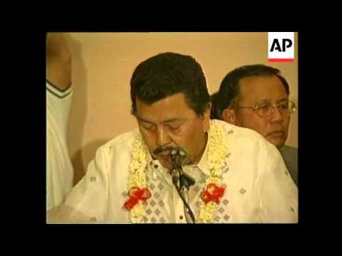 PHILIPPINES: OPPOSITION PARTY REVEAL PRESIDENTIAL BET FOR NEXT YEAR