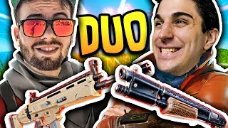 ANIMA AND GABBO, An INCREDIBILE DUO!! VITTORY REAL PAZZESCA! Fortnite Battle Royale