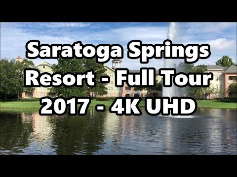 Disney's Saratoga Springs Resort | Full Tour 2017 | 4K UHD | Walt Disney World