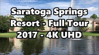 Disney's Saratoga Springs Resort   Full Tour 2017   4K UHD   Walt Disney World thumbnail