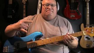 Iron Maiden The Clairvoyant Bass Cover with Notes & Tablature