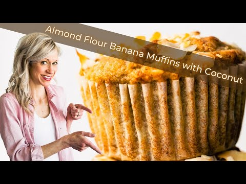 PALEO TOASTED COCONUT BANANA BREAD MUFFINS