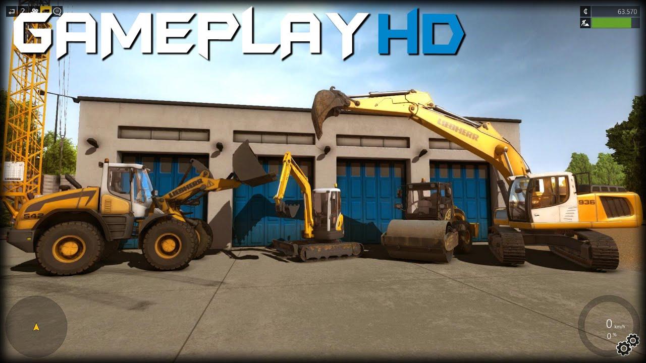Construction Simulator 2015 Gameplay (PC HD)