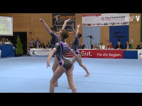 Acro Cup Albershausen 2013 Womens Group Seniors Combined Holland - Beek, Burgt, Gijsbertse