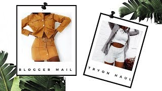 HUGE AUTUMN BLOGGER MAIL TRY ON HAUL   FASHION NOVA, LASULA, MISS PAP, NA-KD - SARAH WORE WHAT