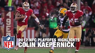 Colin Kaepernick Shreds the Packers | NFL 2012 Divisional Round Highlights