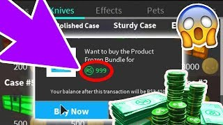 BUYING THE MOST EXPENSIVE ITEMS IN ROBLOX ASSASSIN (rip my robux)