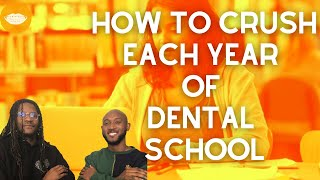 Crush Every Year of Dental School [D1-D4 Guide] || FutureDDS