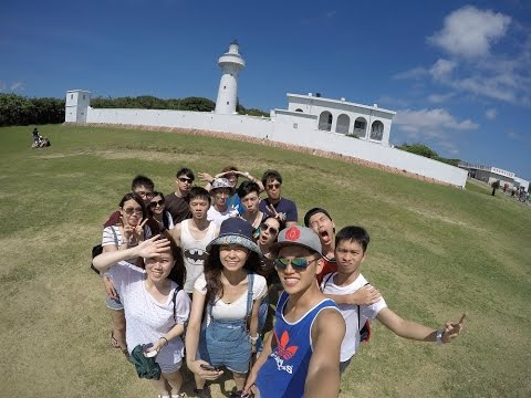 Taiwan, Kenting with college friends [GoPro Hero4] [1080p]