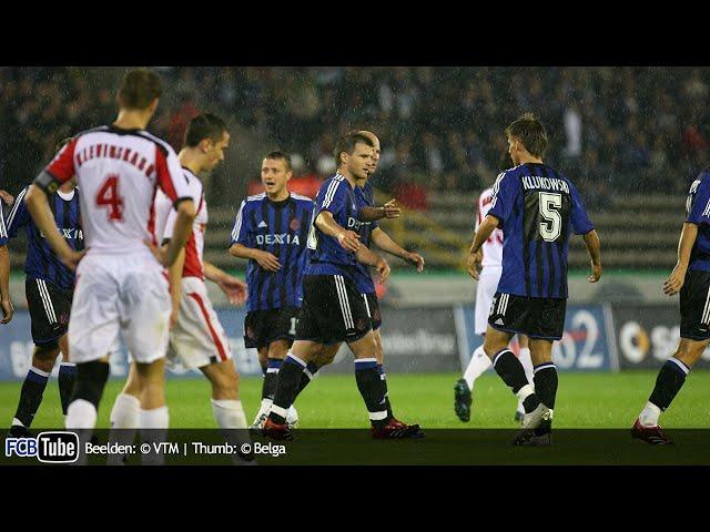 2006-2007 - UEFA-Cup - 02. 2de Voorronde - Club Brugge - FK Süduva 5-2