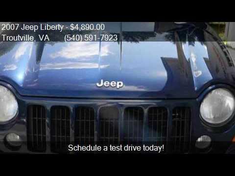 2007 Jeep Liberty Sport 4dr SUV for sale in Troutville, VA 2