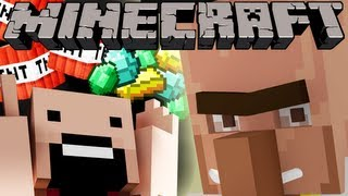 If Notch was Kidnapped by Villagers - Minecraft