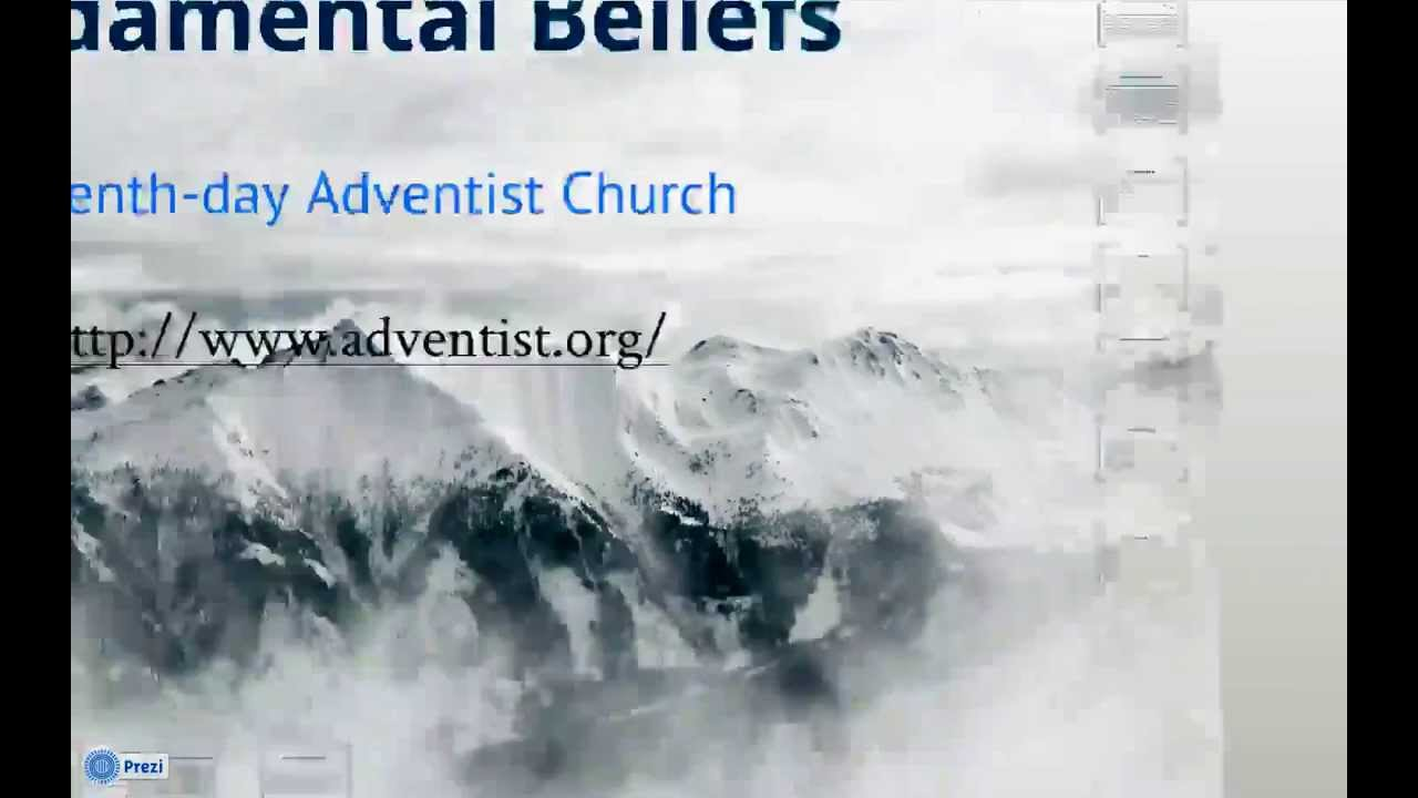 Animation - Fundamental Beliefs of Seventh-day Adventists