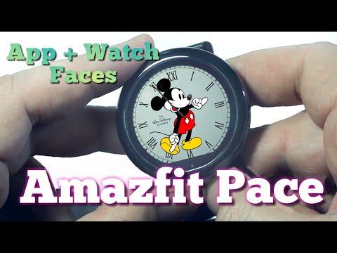 Amazfit Pace Watch App+ Watch Face Xiaomi Huami Smartwatch