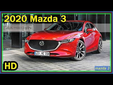 Video Mazda 3 2020 Review New All 2020 Mazda 3 Skyactiv X Release