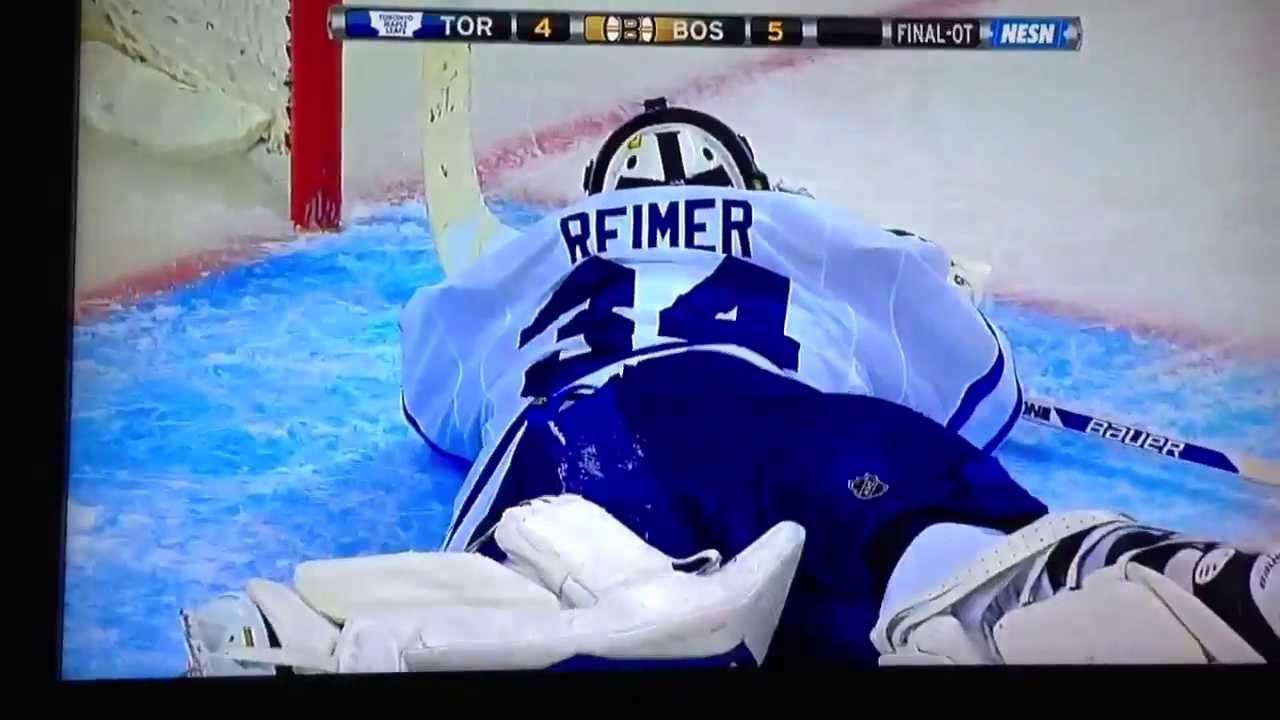 Boston Bruins Beat Toronto Maple Leafs Game 7 Youtube