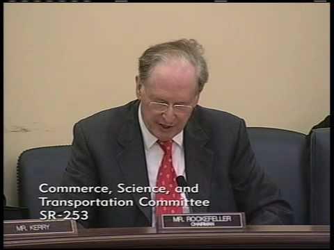 Rockefeller on Broadband Stimulus Programs in ARRA