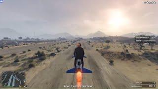 LIVESTREAM - GTA V Online dùng moto bay đi trộm các gói hàng đem về căn cứ dưới lòng đất | ND Gaming