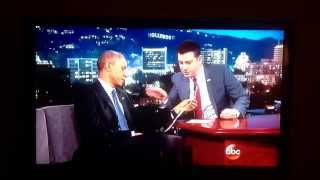 Jimmy Kimmel and Barack Obama on CVS receipts