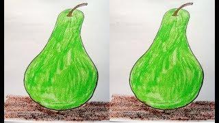 gourd drawing easy draw bottle vegetable getdrawings
