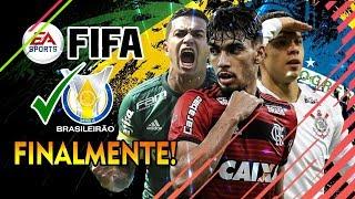 ALELUIA!! FIFA DEVE TER BRASILEIRÃO 100% LICENCIADO EM 2019!!